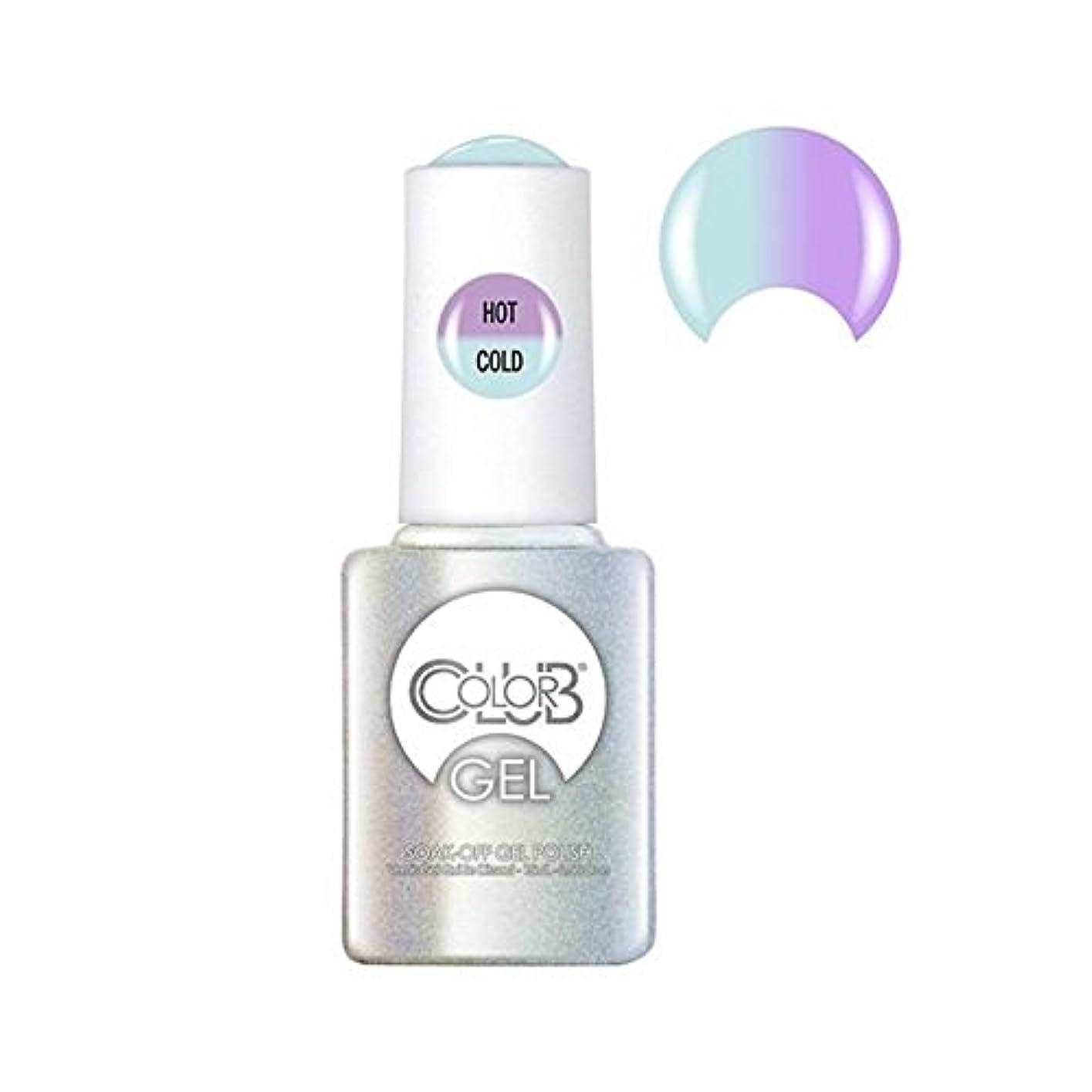 分岐する第つかの間Color Club Gel Polish - Blue Skies Ahead - 0.5oz / 15ml