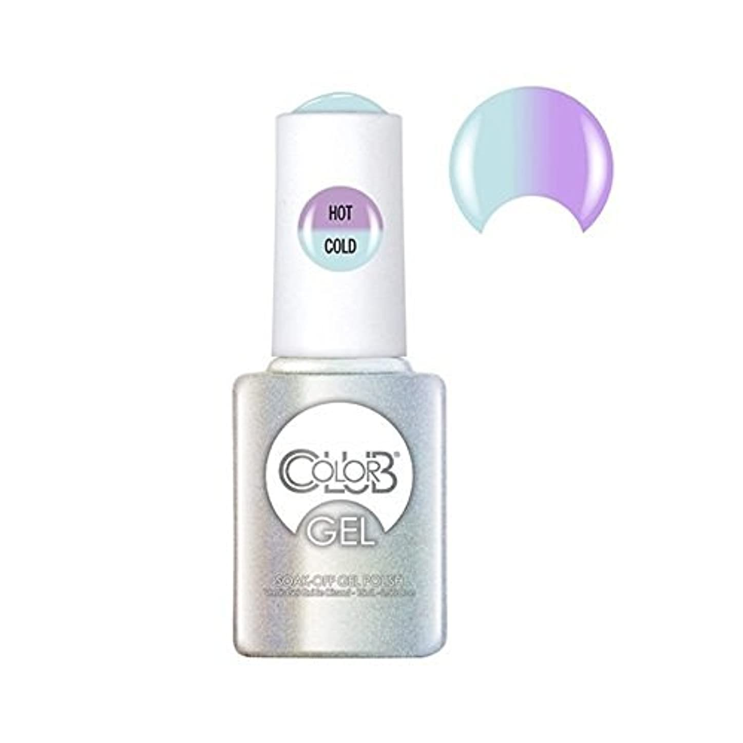 腕回転させるキラウエア山Color Club Gel Polish - Blue Skies Ahead - 0.5oz / 15ml