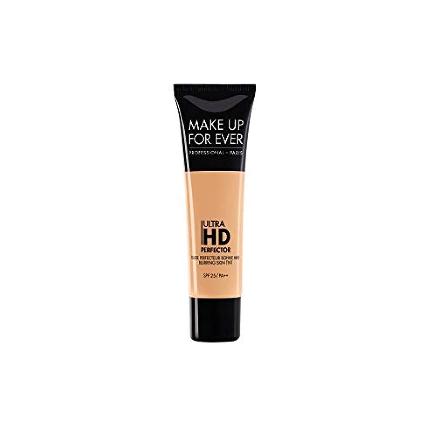 安定生じる衝突コースメイクアップフォーエバー Ultra HD Perfector Blurring Skin Tint SPF25 - # 07 Golden Apricot 30ml/1.01oz並行輸入品