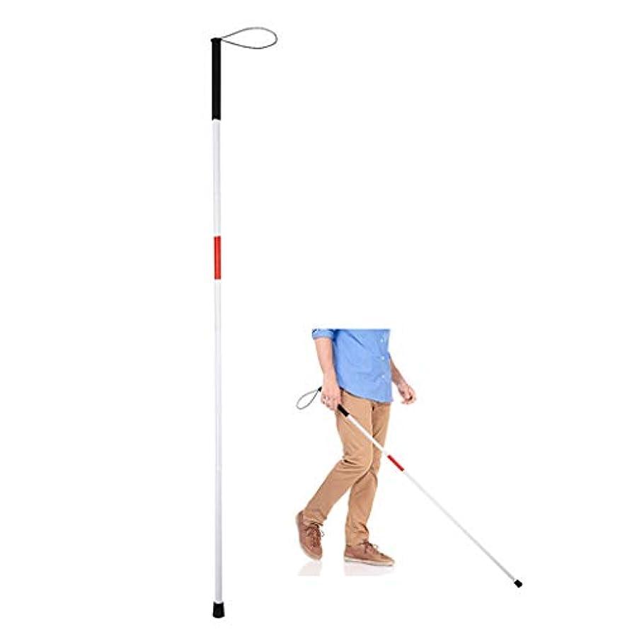 ガム川マサッチョ視覚障害者のための折りたたみ式移動杖と視覚障害者のための盲目の歩行杖、アルミニウム折りたたみ、盲目の杖(長さ:47.24in)