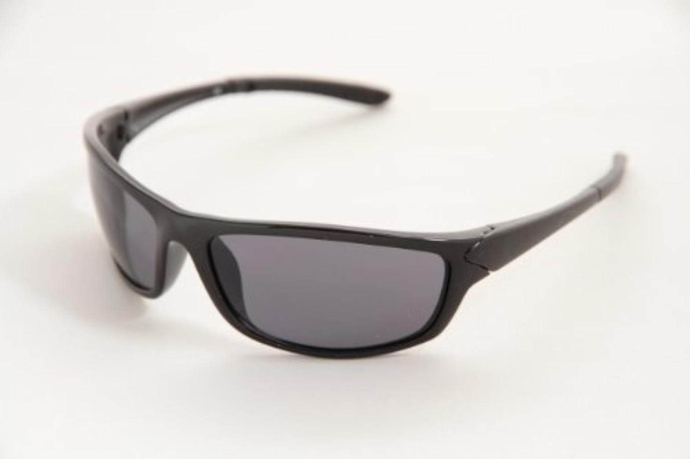 元気拾う痛い不二貿易 スポーツグラス P220136 ブラック (UV400) サングラス 11530
