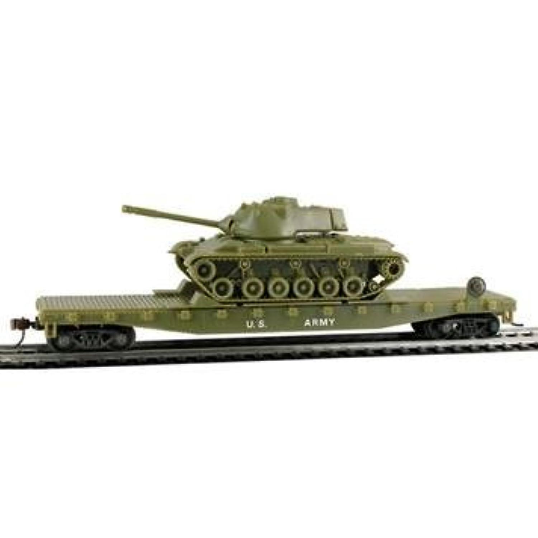 HO Flat/Patton Tank US Ar [Floral] [並行輸入品]