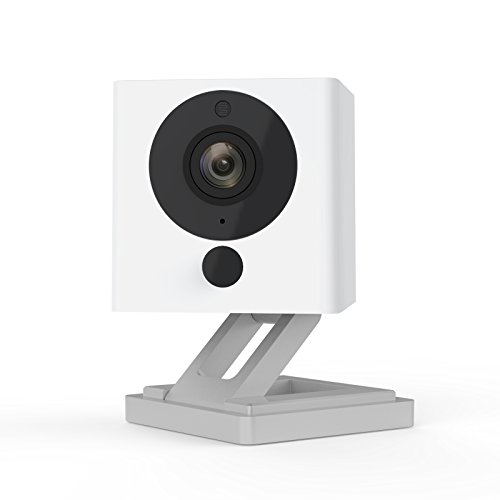 Wyze Cam Wireless Smart Home Security Camera | 1080p HD Indoor Night Vision Surveillance 2-Way Audio | Person Detection | Text Email Emergency Notify | Alexa Google Assistant Compatible (1-Pack)