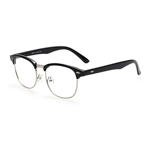 Cyxus(シクサズ)青色光をカット uvカット輻射防止眼鏡 [透明レンズ ] オーバーPC パソコン用メガネ 眼精疲労低減に 男女兼用