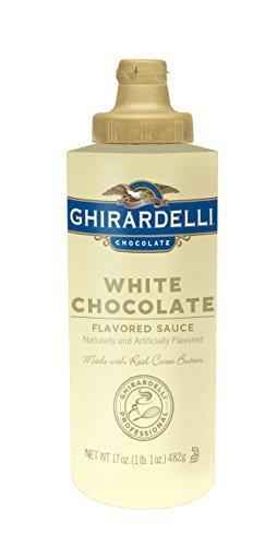 ギラデリ ホワイトチョコレートフレーバーソースミニボトル482g