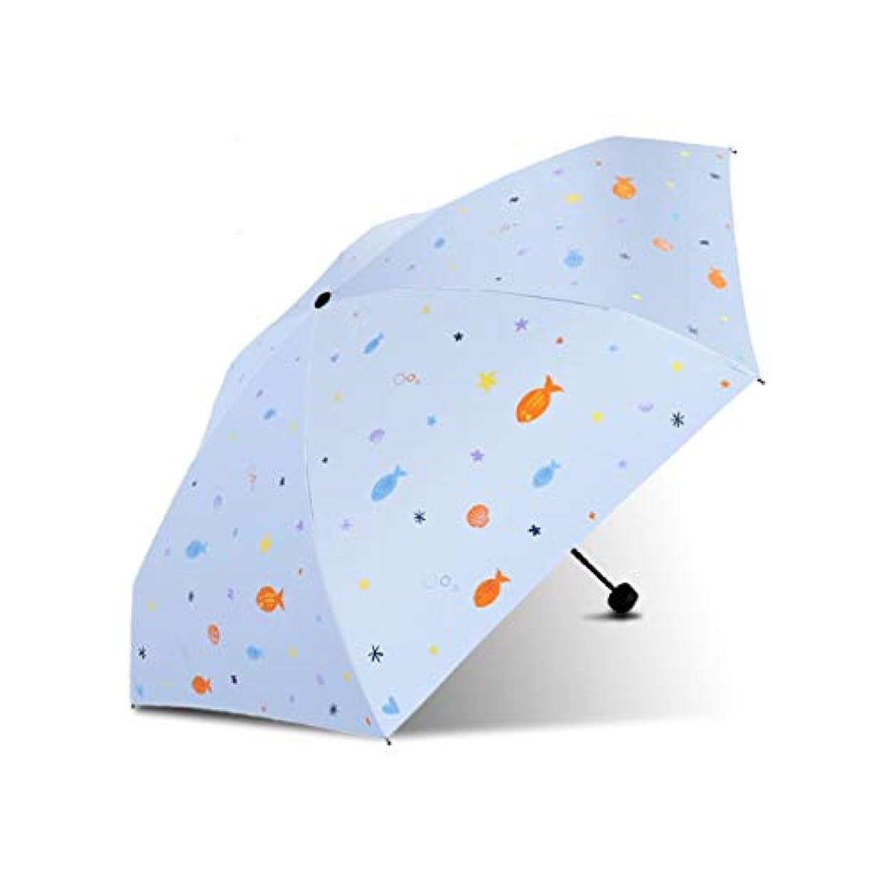 まっすぐにする粒子ファックスPy 傘日焼け止め抗UV傘超軽量折りたたみデュアルユース日傘印刷装飾