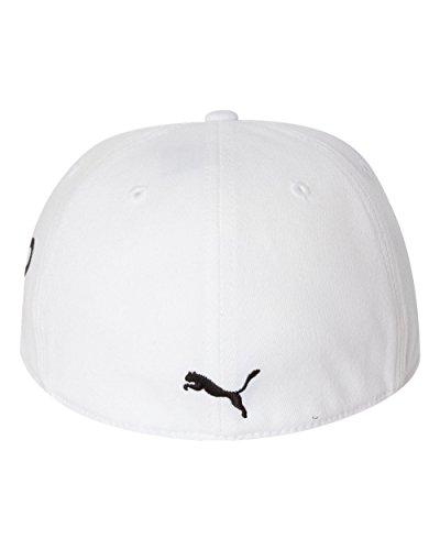アメリカ版Puma(プーマ)モノラインMonolineキャップ帽子210-白 [並行輸入品]