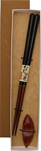 イシダ(Ishida) 日本製 箸・箸置き ギフト 和紙貼箱箸置1膳入 だるま柿の種 23cm