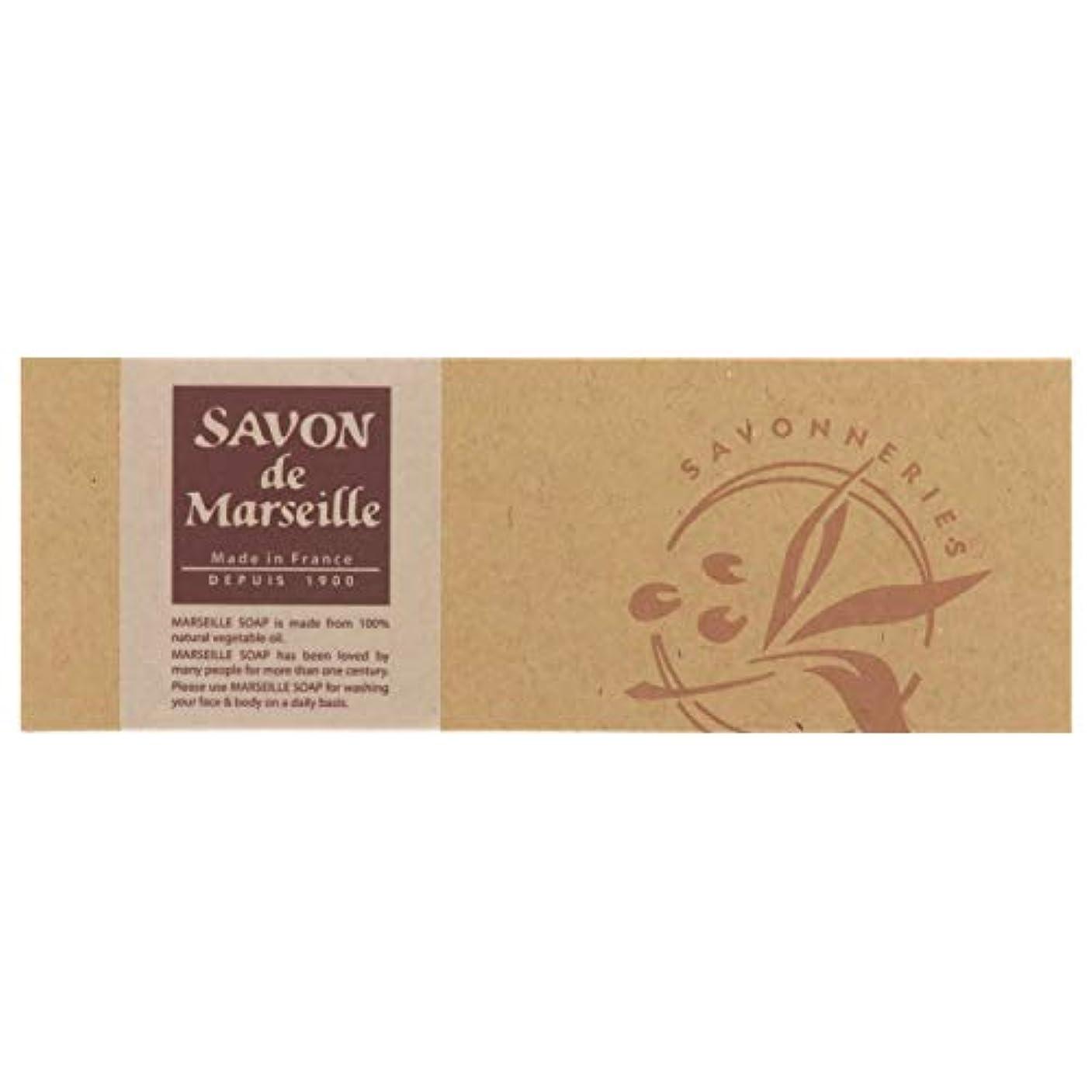 皮関与する見捨てるサボンドマルセイユ無香料ギフトセット3個入り