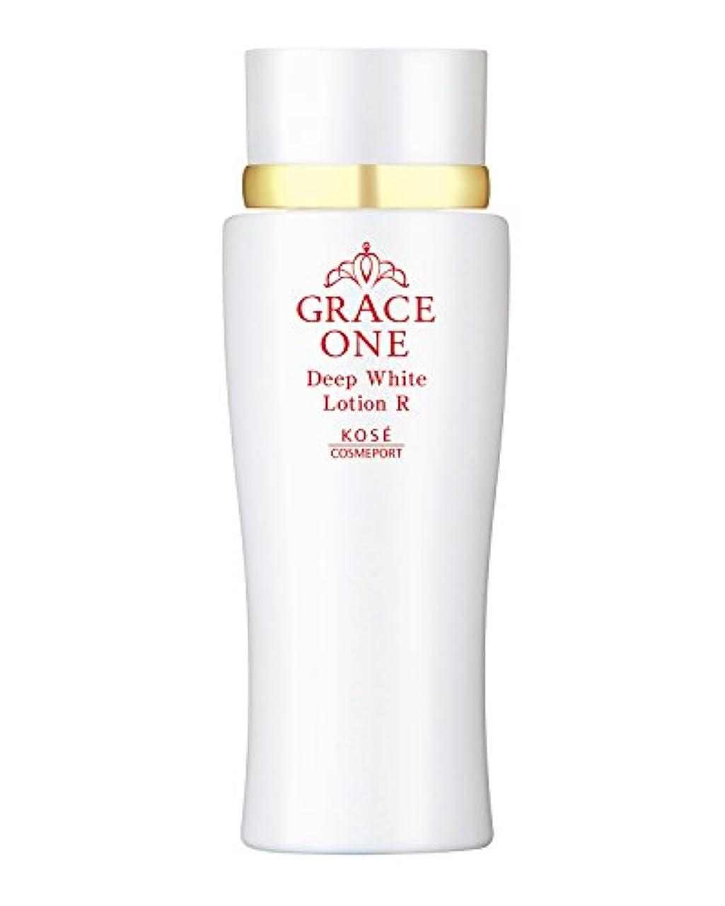 合併症系統的できない(医薬部外品) KOSE コーセー グレイスワン 薬用美白 ディープホワイト ローション (とてもしっとり 化粧水) 180ml