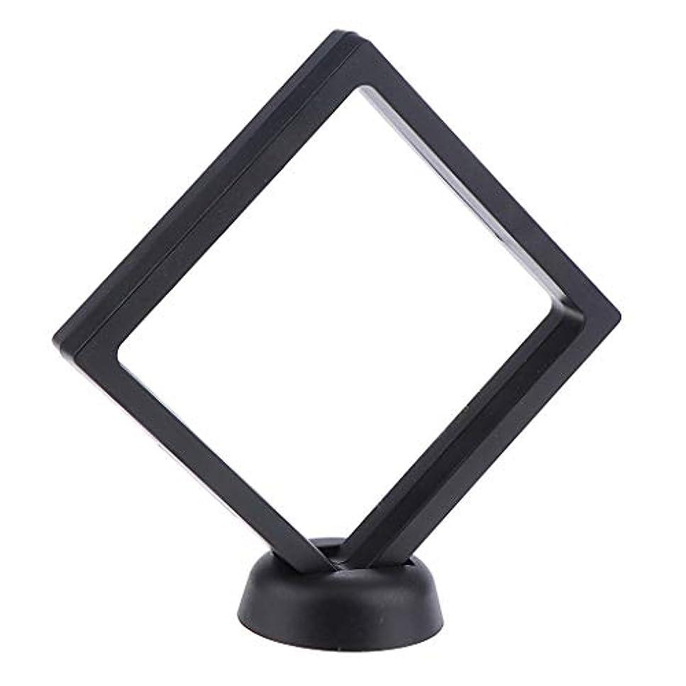 ストライプアジャトーンB Baosity ネイルアート 展示用 ボード ネイルサロン ネイルヒント ディスプレイスタンド 2色選べ - ブラック