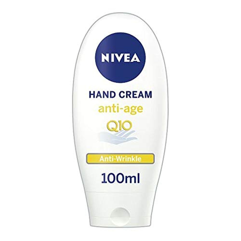 [Nivea ] ニベアアンチエイジングQ10ハンドクリーム100ミリリットル - Nivea Anti-Aging Q10 Hand Cream 100Ml [並行輸入品]