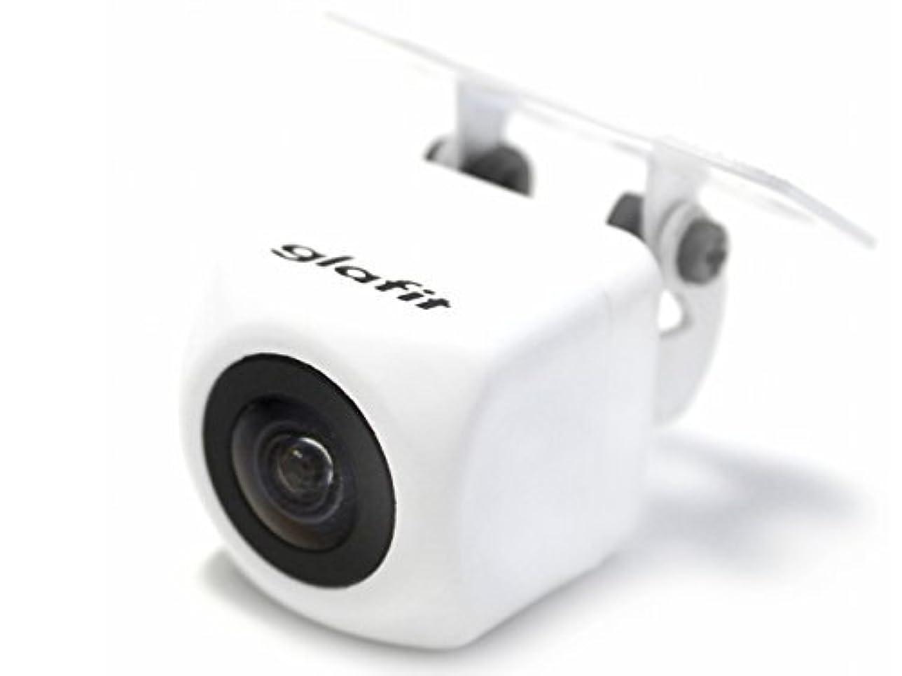 白雪姫ワゴンなめるパイオニア AVIC-RZ810-D 対応 バックカメラ 外突法規基準対応品 EC1033-W