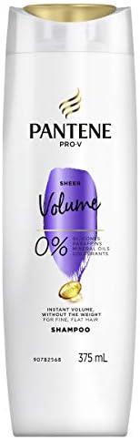 Pantene Sheer Volume Shampoo 375ML, 1 count