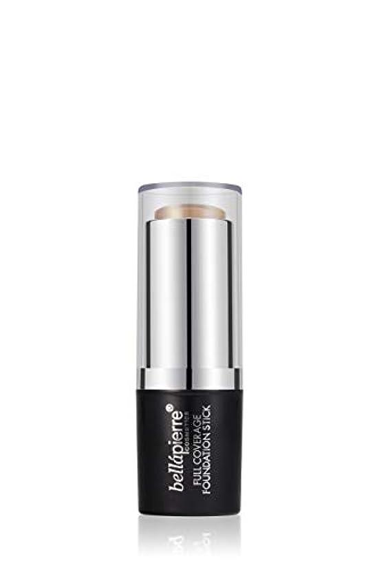 パーセント液化するシールドBellapierre Cosmetics Full Coverage Foundation Stick - # Medium 10g/0.35oz並行輸入品