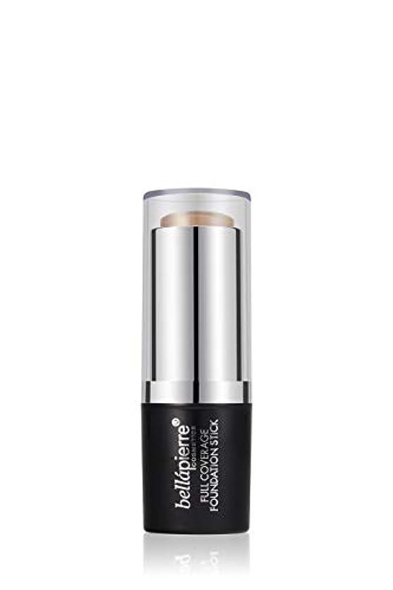 ラジカル生息地不機嫌そうなBellapierre Cosmetics Full Coverage Foundation Stick - # Medium 10g/0.35oz並行輸入品