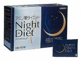 オリヒロ アミノ酸ナイトダイエット(6粒*60包入)