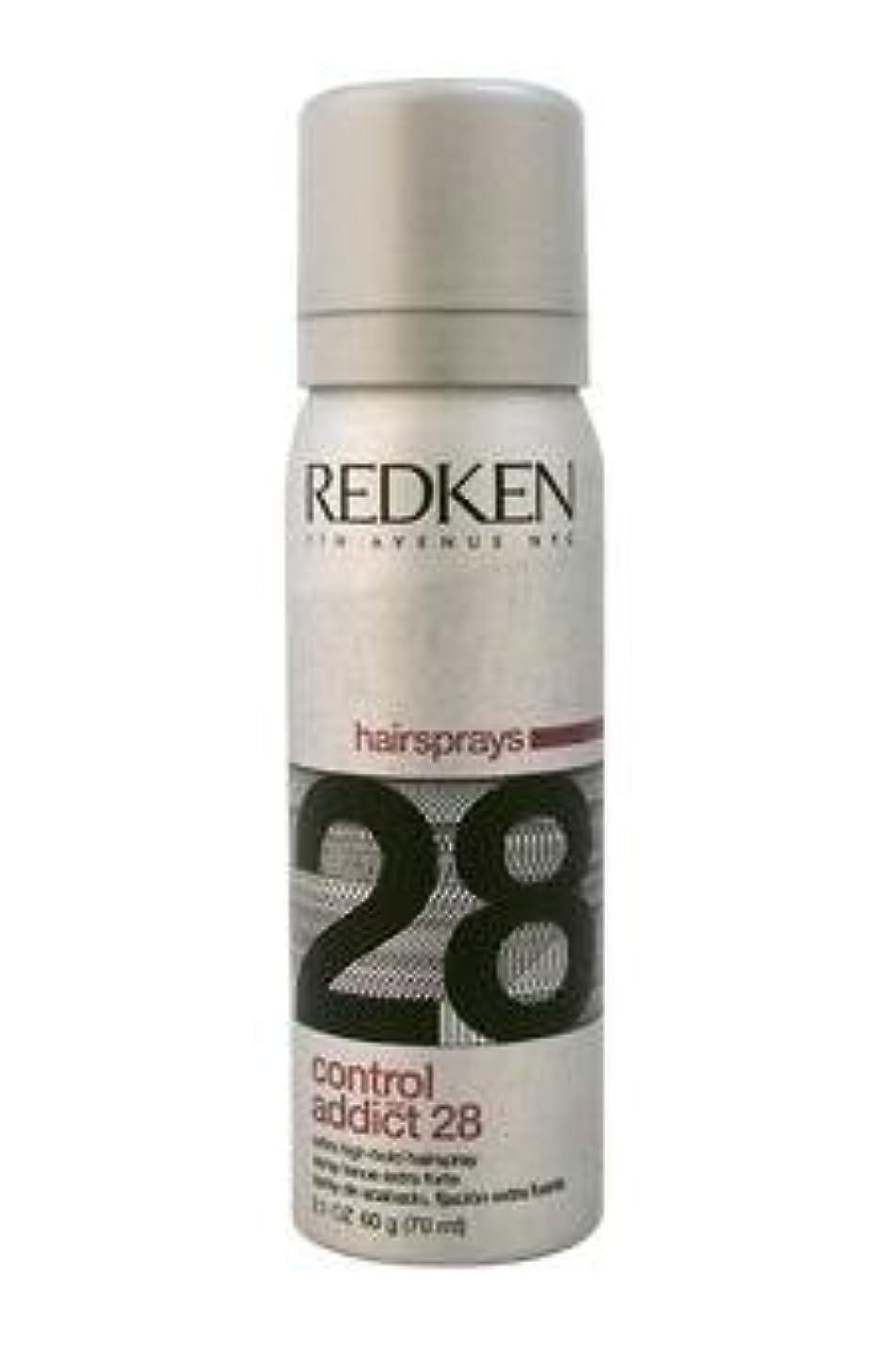ルー透けるほんのREDKEN レッドケンコントロールアディクト28 /レッドケンエクストラハイホールド髪2.0オズスプレー(57)ML) 2オンス