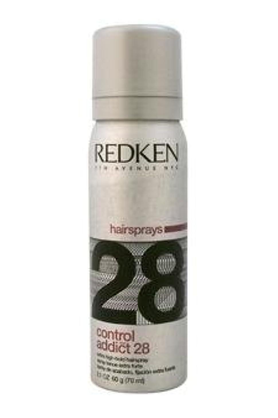 置くためにパック押すばかげたREDKEN レッドケンコントロールアディクト28 /レッドケンエクストラハイホールド髪2.0オズスプレー(57)ML) 2オンス