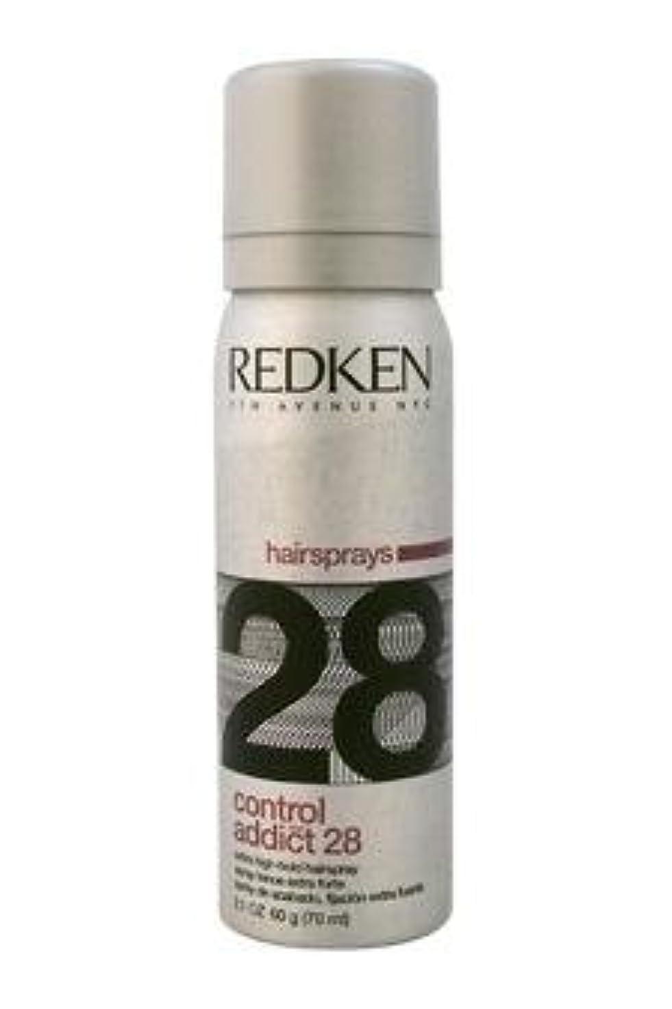 エージェントアイザック請求REDKEN レッドケンコントロールアディクト28 /レッドケンエクストラハイホールド髪2.0オズスプレー(57)ML) 2オンス