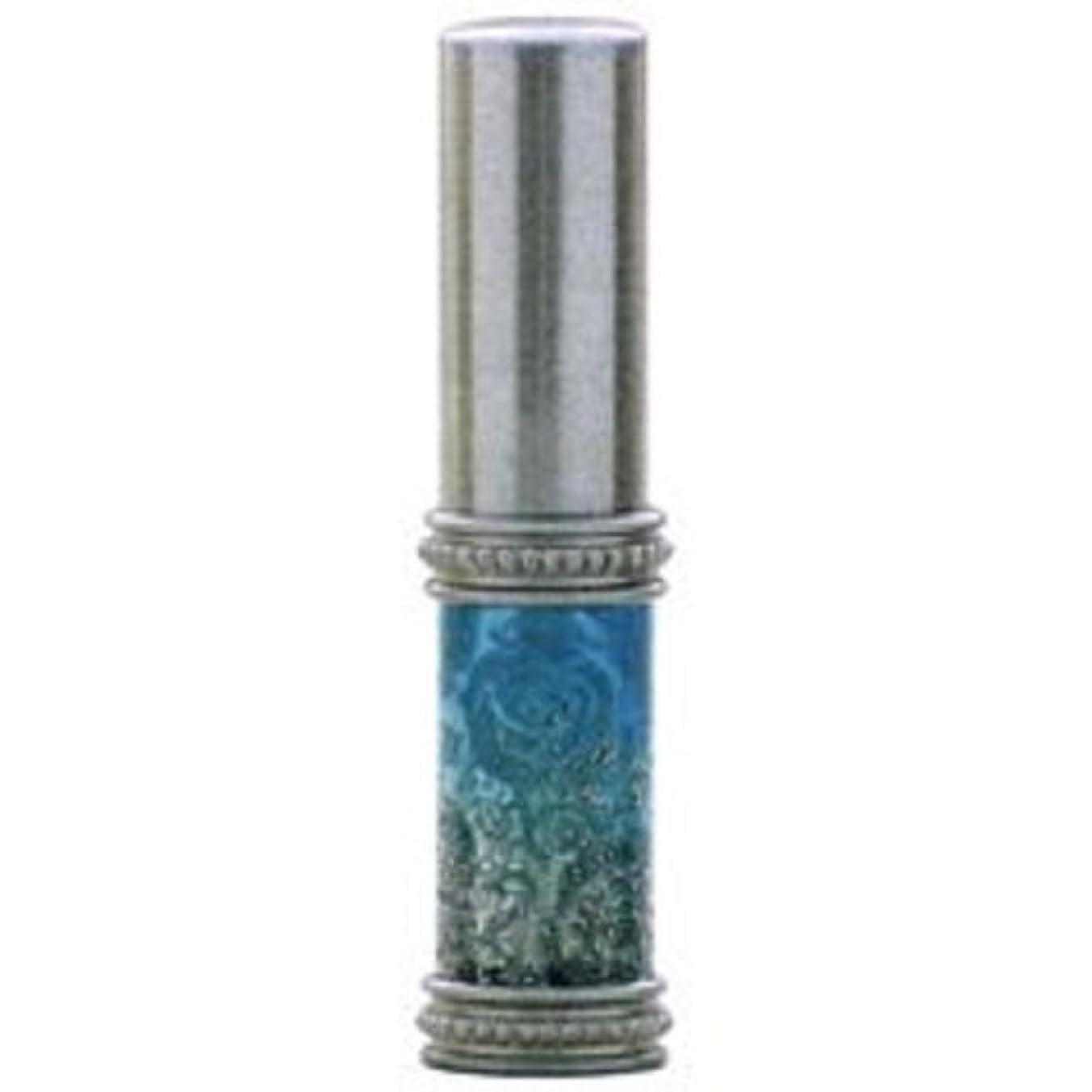 証明書明確なお気に入りヒロセアトマイザー ラメ 薔薇 ガラスアトマイザー 16121 SV (メタルラメバラ シルバー)