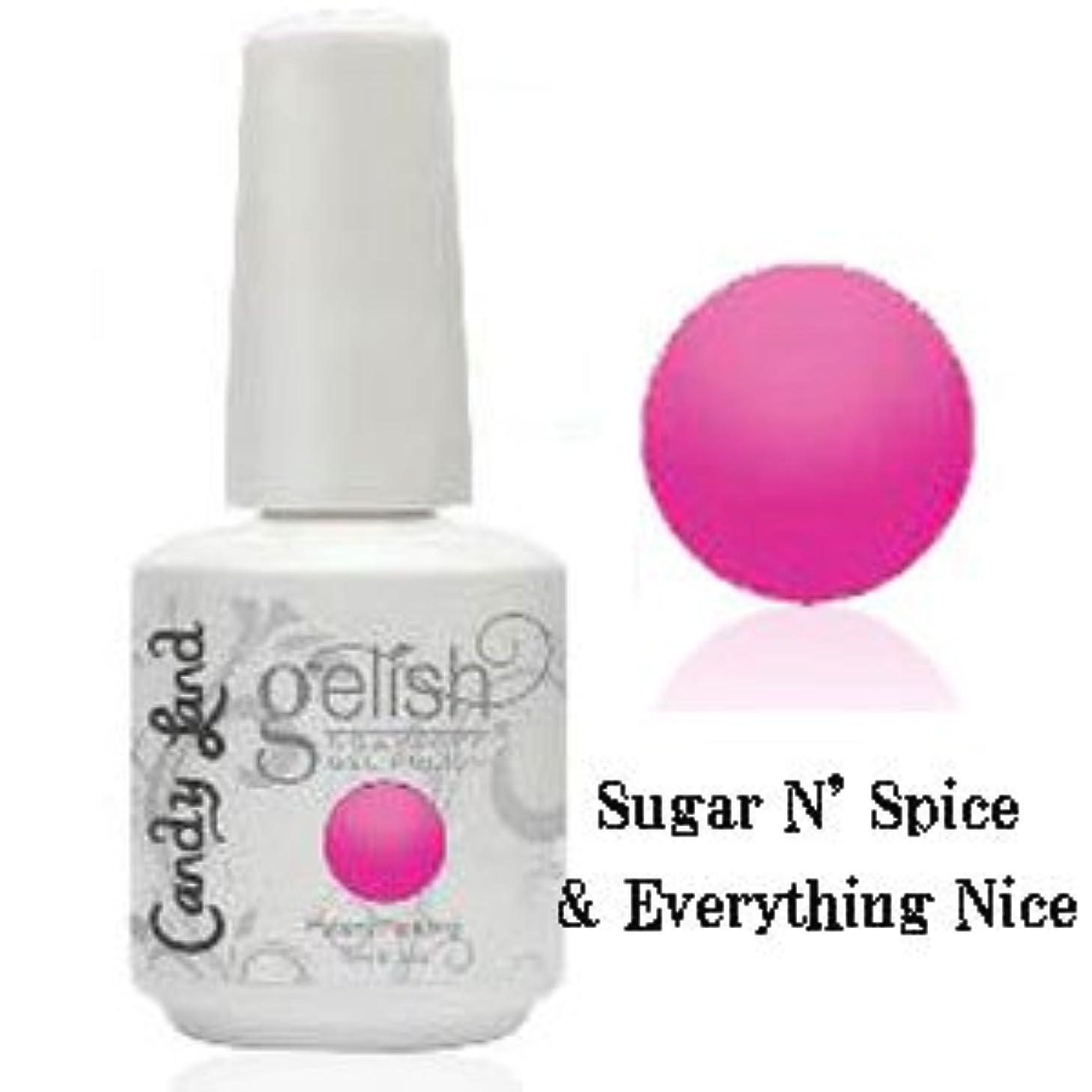 快いアストロラーベスプリットHarmony gelishソークオフジェル-Sugar N' Spice & Everything Nice-キャンディーランドコレクション 15ml [海外直送品][並行輸入品]