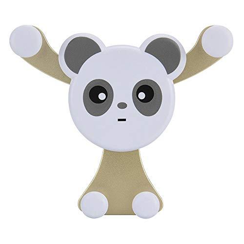 LiPing Panda 車載電話マウントホルダー エアベント車載自転車 車載携帯電話ホルダースタン...