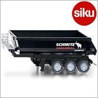 <ボーネルンド> Siku(ジク)社 輸入ミニカー2889 ファーマー 機械式ティッパートレーラー 1/32スケールトラクター専用パーツ