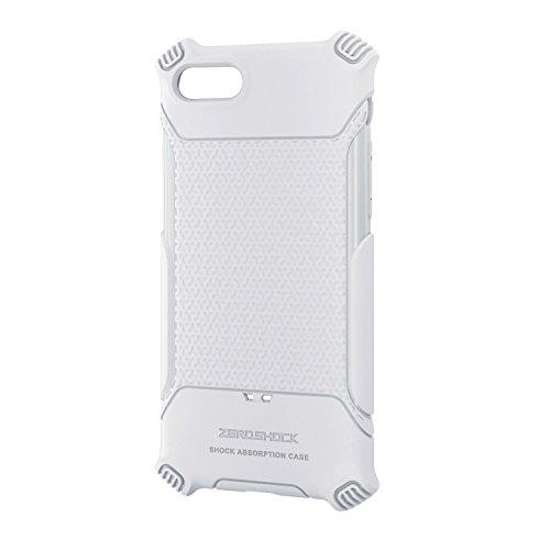 エレコム iPhone7 / アイフォン7 衝撃吸収ケース グリップ ホワイト PMWA16MHVGWH