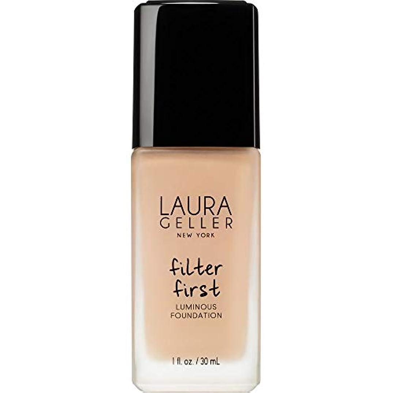 のれんマカダム統合する[Laura Geller] ローラ?ゲラーは、最初の発光基盤の30ミリリットルのバフをフィルタリング - Laura Geller Filter First Luminous Foundation 30ml Buff...