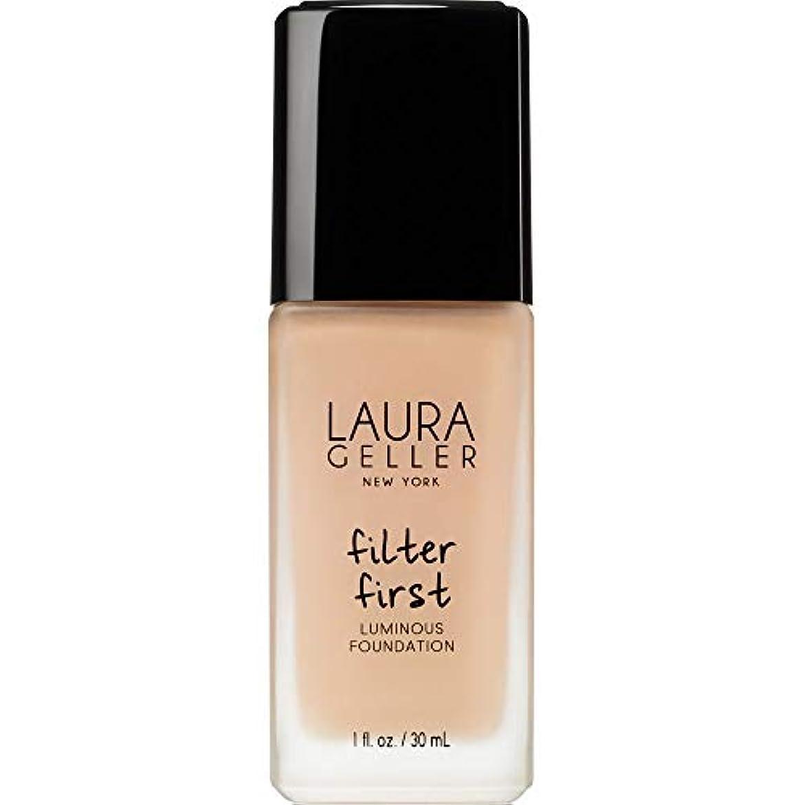 声を出して煙咳[Laura Geller] ローラ?ゲラーは、最初の発光基盤の30ミリリットルのバフをフィルタリング - Laura Geller Filter First Luminous Foundation 30ml Buff...