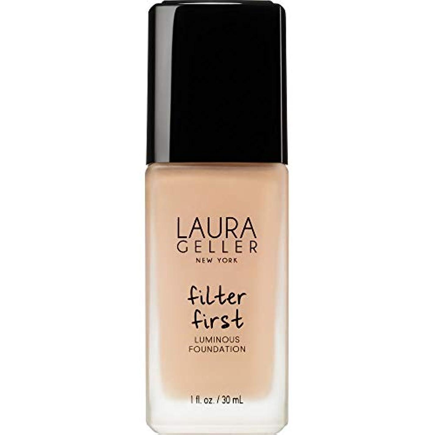 優しいコンデンサーウェイトレス[Laura Geller] ローラ?ゲラーは、最初の発光基盤の30ミリリットルのバフをフィルタリング - Laura Geller Filter First Luminous Foundation 30ml Buff...
