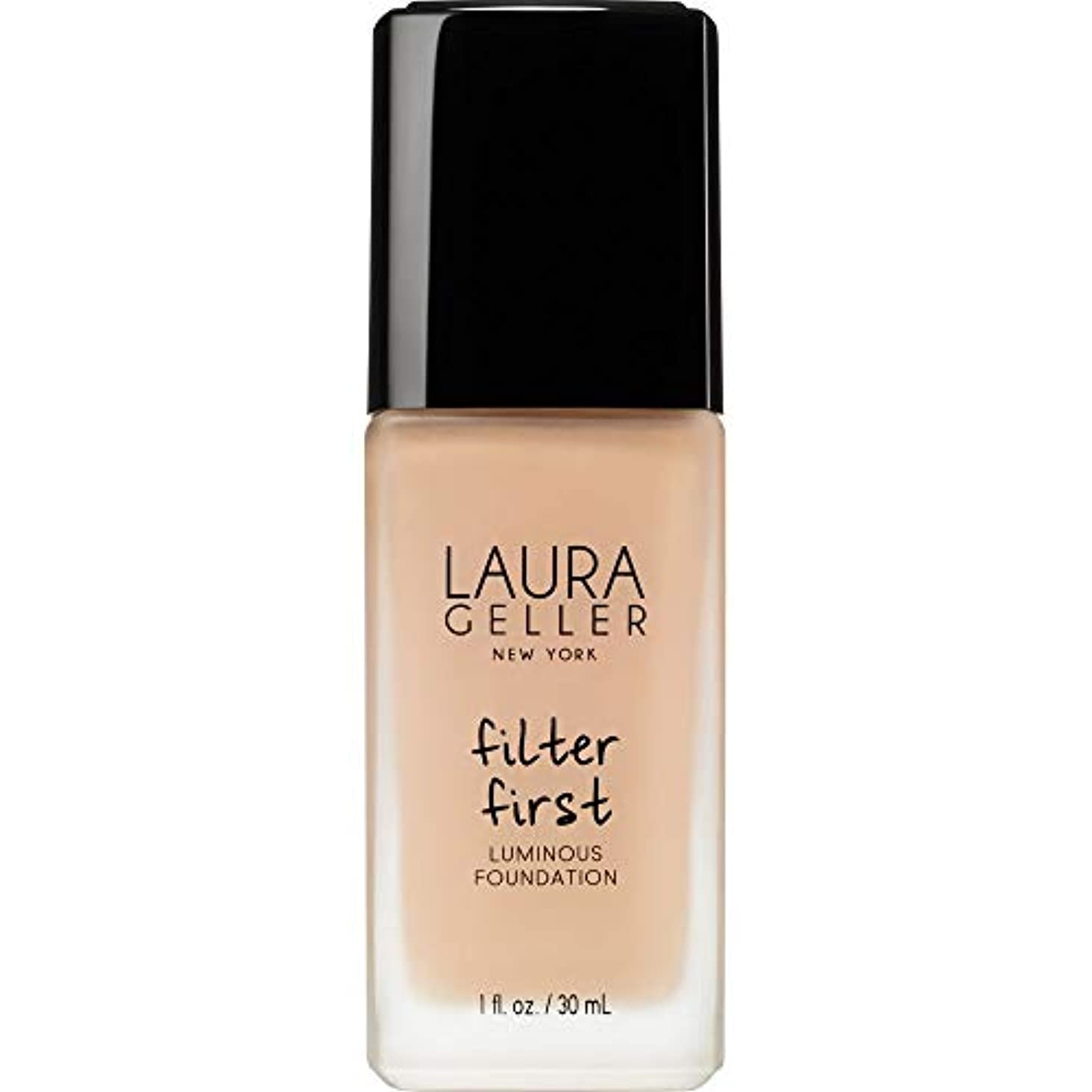 予知慣れるつぶす[Laura Geller] ローラ?ゲラーは、最初の発光基盤の30ミリリットルのバフをフィルタリング - Laura Geller Filter First Luminous Foundation 30ml Buff...