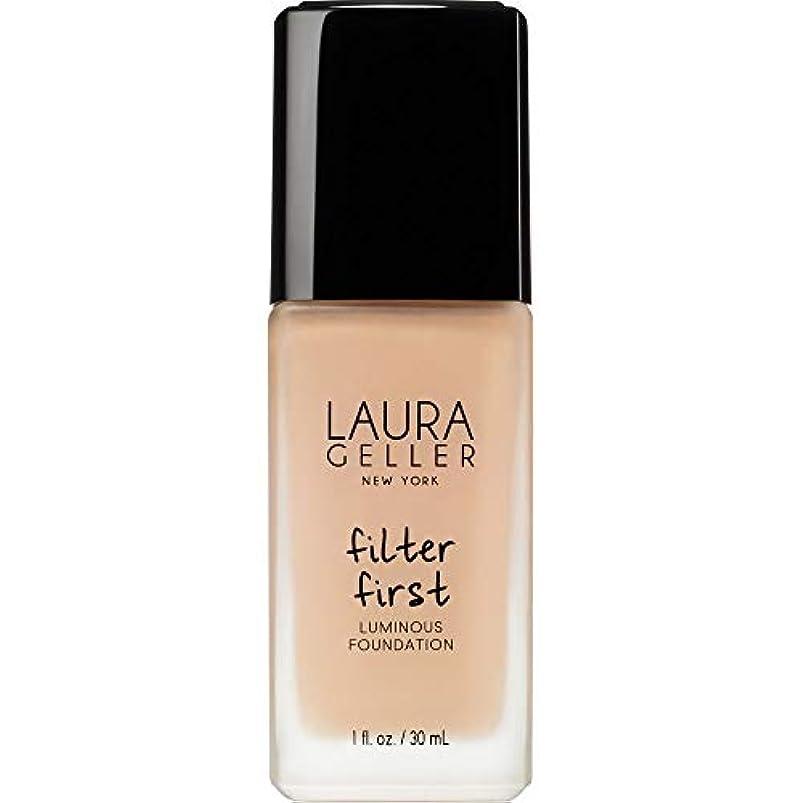 ユーモラス絶壁テクスチャー[Laura Geller] ローラ?ゲラーは、最初の発光基盤の30ミリリットルのバフをフィルタリング - Laura Geller Filter First Luminous Foundation 30ml Buff...