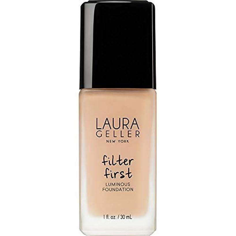 ペルーさておき珍味[Laura Geller] ローラ?ゲラーは、最初の発光基盤の30ミリリットルのバフをフィルタリング - Laura Geller Filter First Luminous Foundation 30ml Buff...