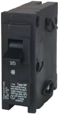 Siemens q120 20 Amp 1極遮断器 ...