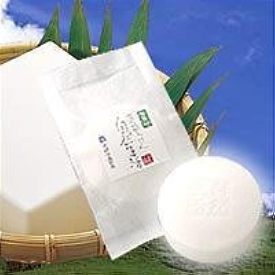 ティッシュに対して大統領豆腐の盛田屋 豆乳せっけん 自然生活