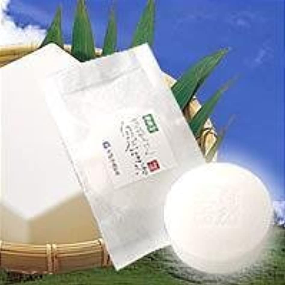 瞑想する含意しわ豆腐の盛田屋 豆乳せっけん 自然生活