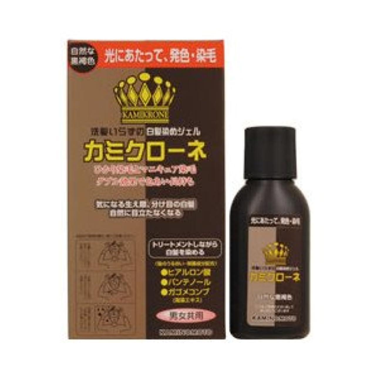配分ビュッフェ禁止【3個】 加美乃素 カミクローネ 自然な黒褐色 80mlx3個 (4987046820020)