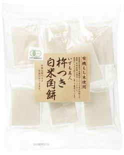 有機白米角餅(いずも美人) ※島根産有機もち米100%  (...