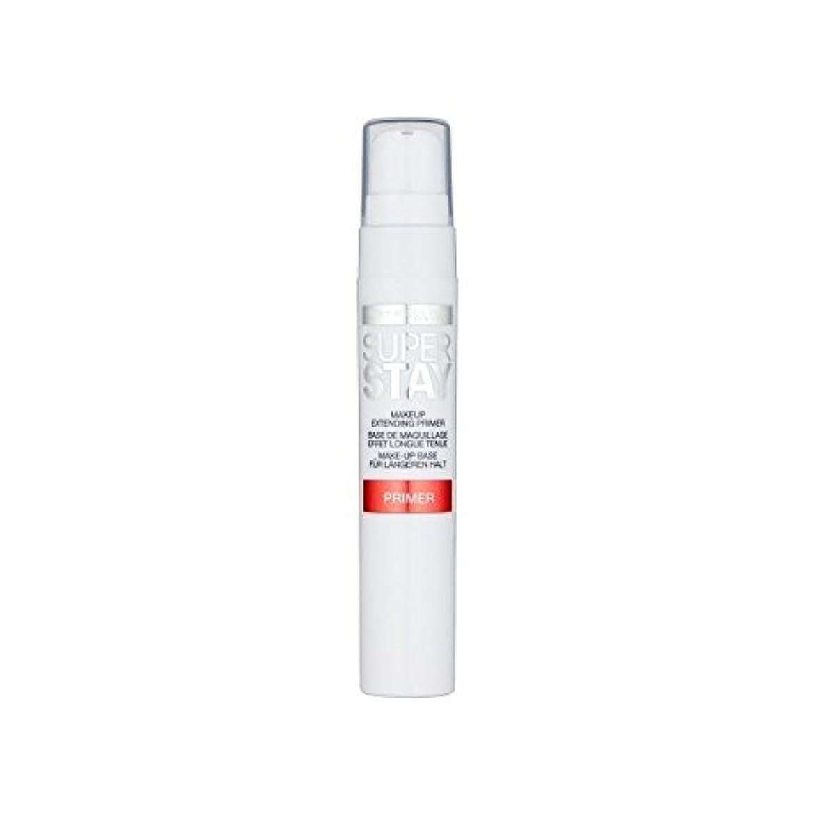 灌漑電化する壁紙メイベリン顔 24とプライマー x4 - Maybelline Face Superstay 24H Primer (Pack of 4) [並行輸入品]