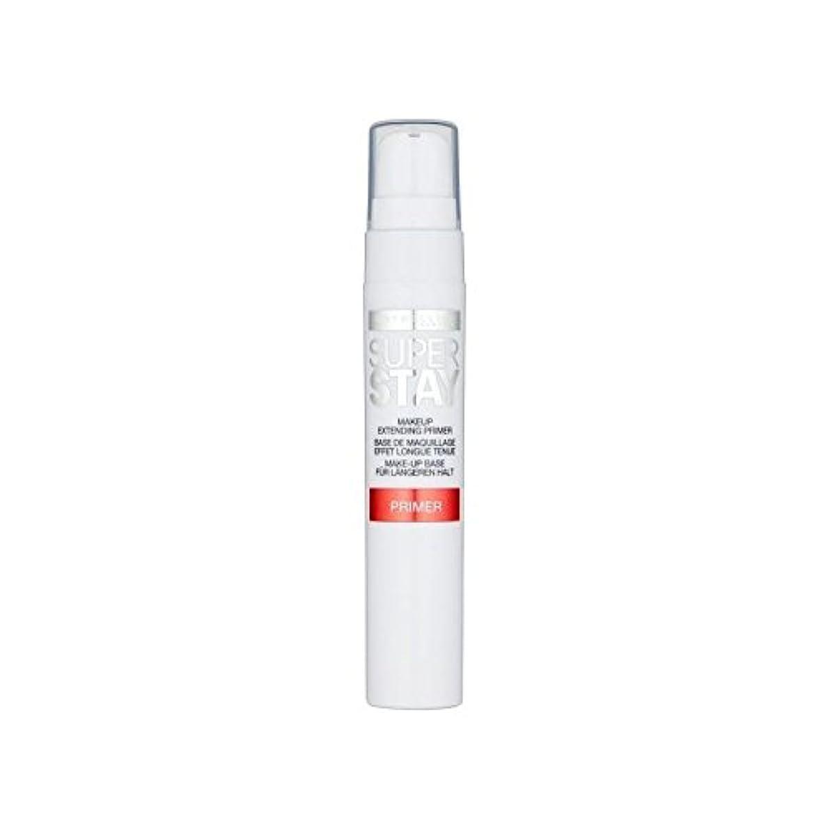 市の中心部ディスク連続したメイベリン顔 24とプライマー x4 - Maybelline Face Superstay 24H Primer (Pack of 4) [並行輸入品]