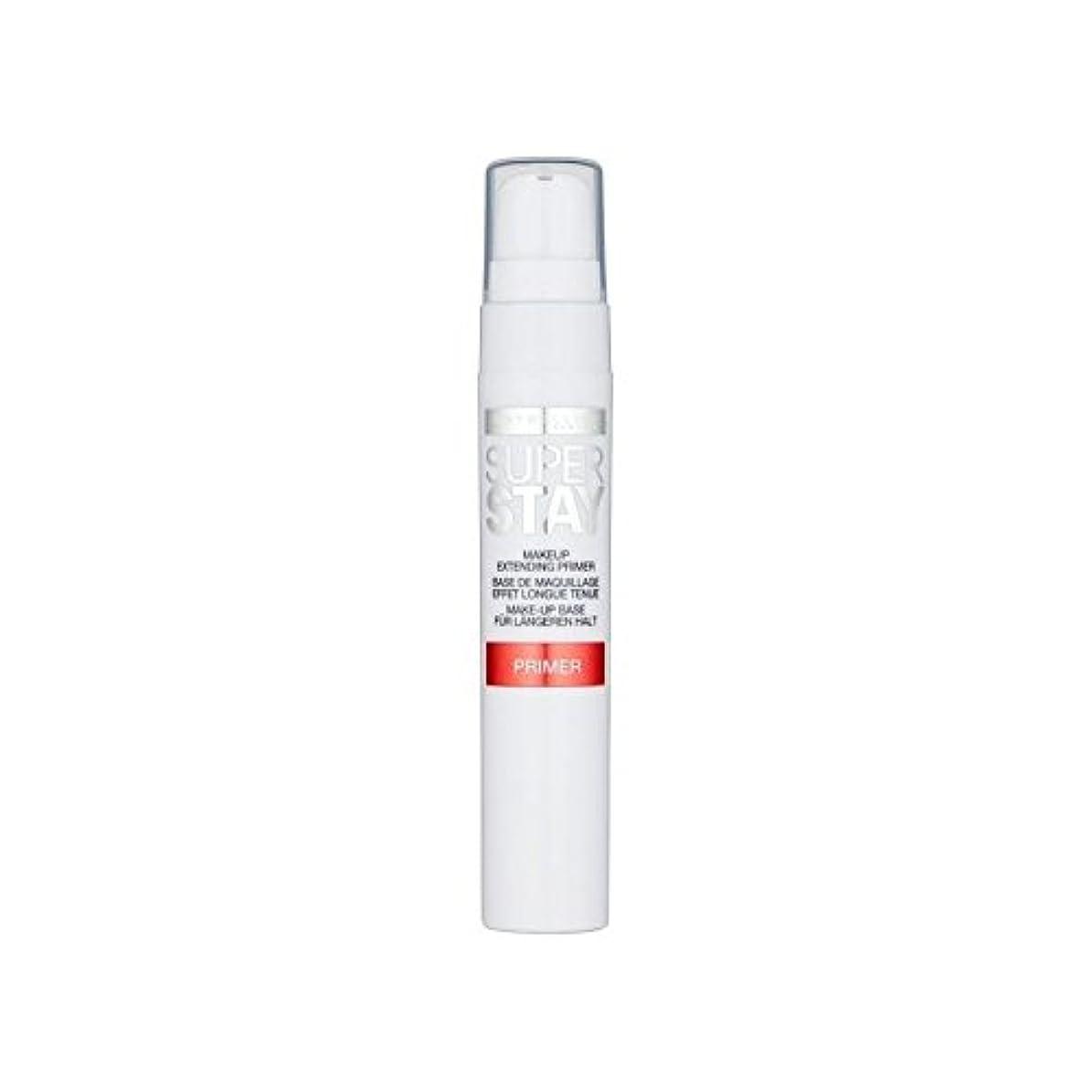 製油所敵オフセットMaybelline Face Superstay 24H Primer (Pack of 6) - メイベリン顔 24とプライマー x6 [並行輸入品]