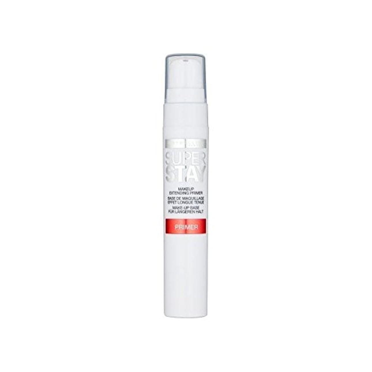 コンパニオン幅領域Maybelline Face Superstay 24H Primer (Pack of 6) - メイベリン顔 24とプライマー x6 [並行輸入品]