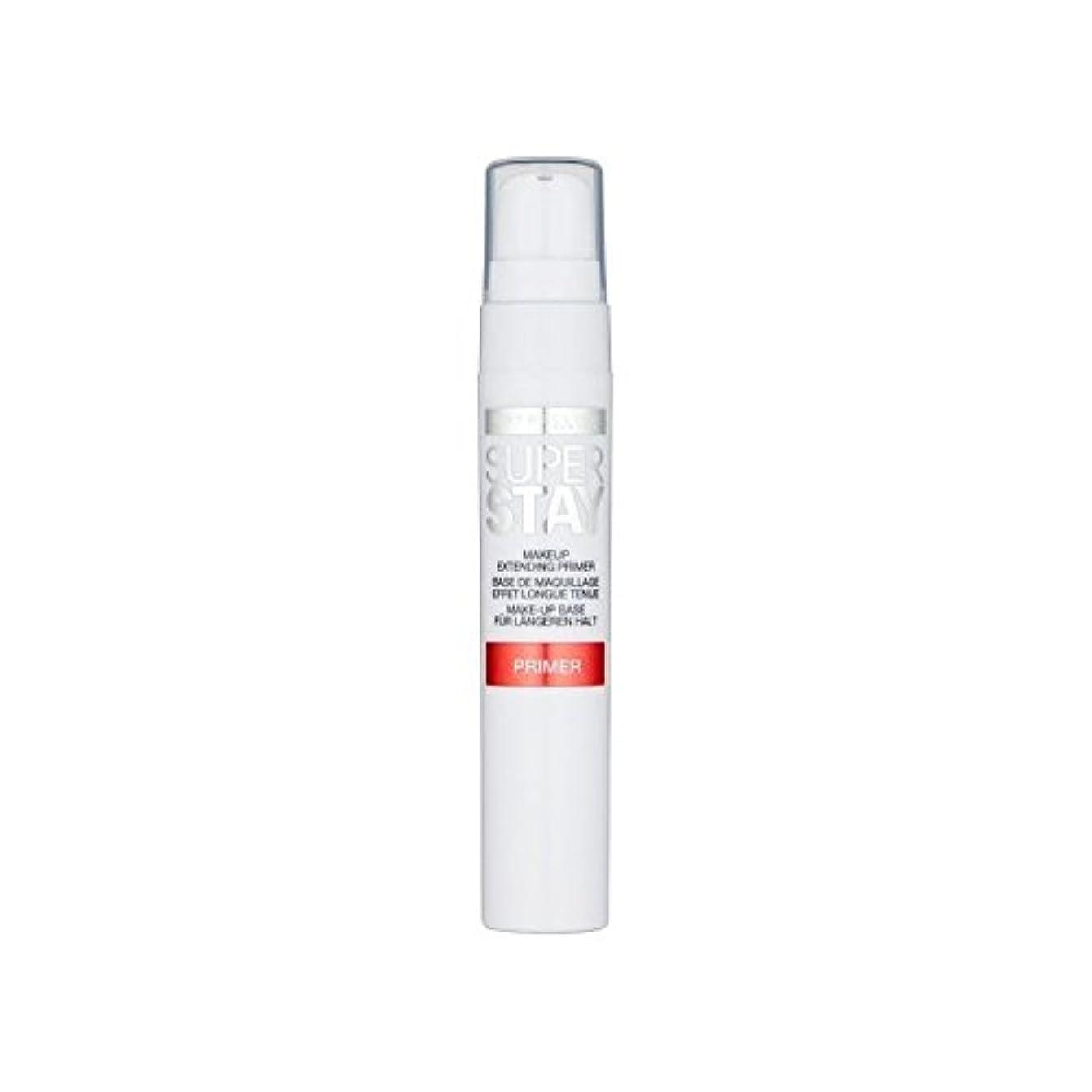 ビジュアルフック宿泊メイベリン顔 24とプライマー x2 - Maybelline Face Superstay 24H Primer (Pack of 2) [並行輸入品]