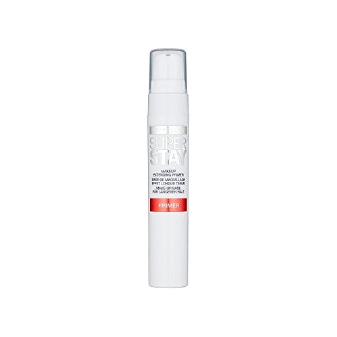 蒸し器つまずく豊かにするメイベリン顔 24とプライマー x2 - Maybelline Face Superstay 24H Primer (Pack of 2) [並行輸入品]
