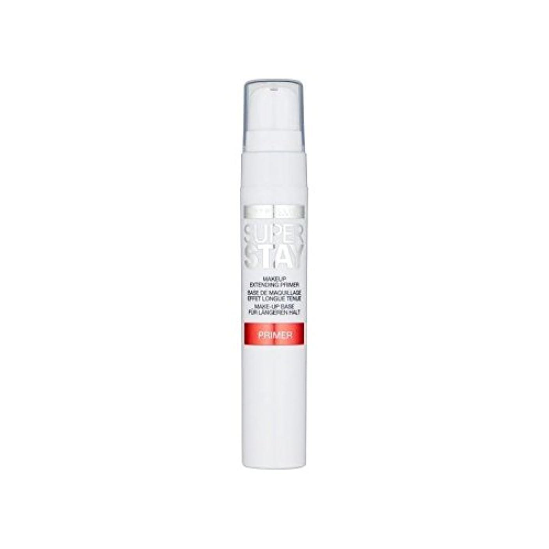 雨留め金戦略Maybelline Face Superstay 24H Primer (Pack of 6) - メイベリン顔 24とプライマー x6 [並行輸入品]