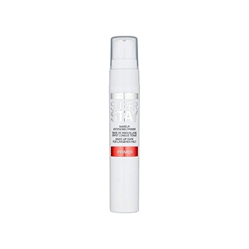 神の厚さ実用的Maybelline Face Superstay 24H Primer (Pack of 6) - メイベリン顔 24とプライマー x6 [並行輸入品]