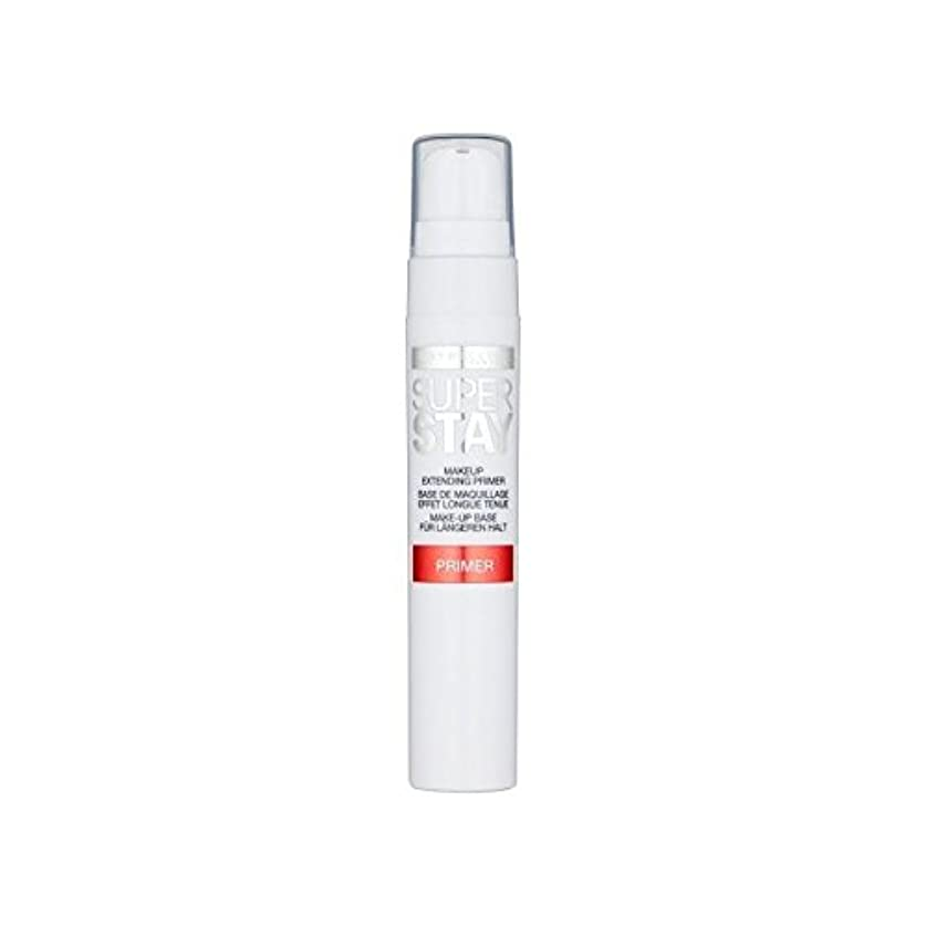 ホラープレート関係ないメイベリン顔 24とプライマー x4 - Maybelline Face Superstay 24H Primer (Pack of 4) [並行輸入品]
