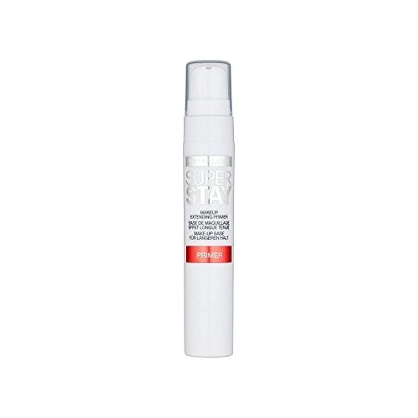 洗剤ウィスキー神経Maybelline Face Superstay 24H Primer (Pack of 6) - メイベリン顔 24とプライマー x6 [並行輸入品]
